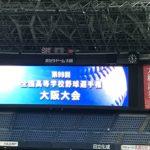 第99回全国高校野球選手権大会 大阪大会開会式を見てきました